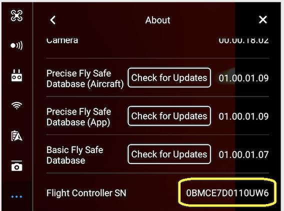 DJI Flight Controller Serial